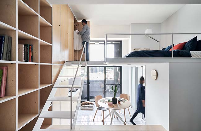 Muzha Micro Flat by Phoebe Sayswow Architects