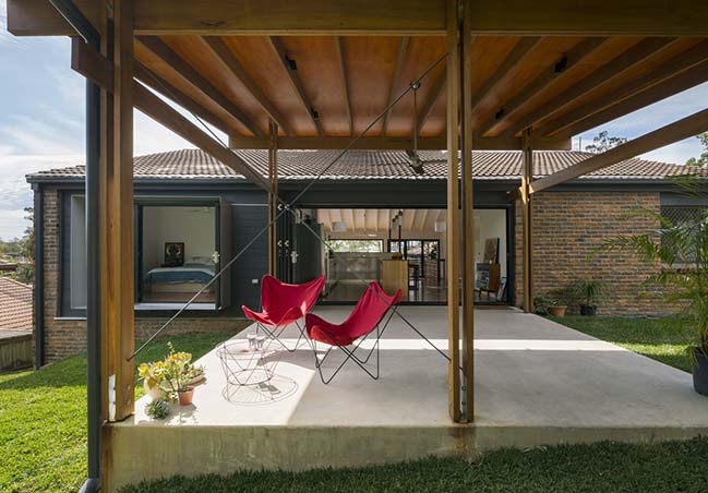 Outlook House in Brisbane by Trace Studio Architects