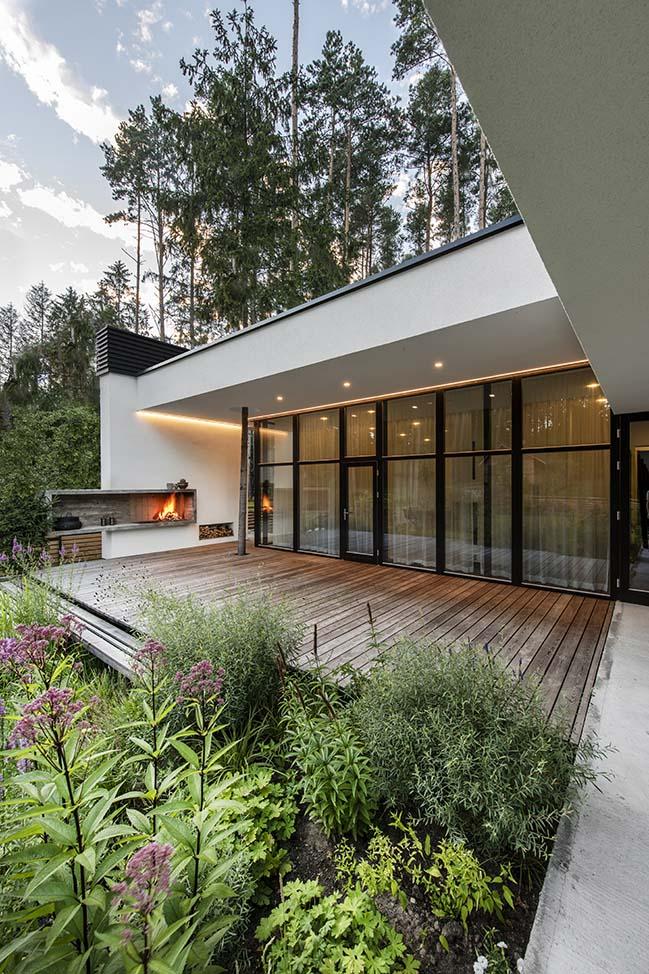 Bridge House in Vilnius by ArchLAB studio