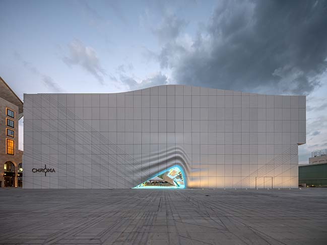 MVRDV completes the Imprint at Paradise City in Incheon