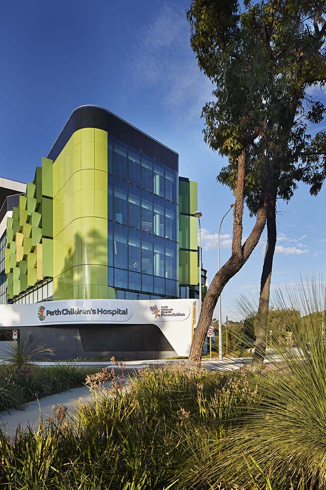 Perth Children Hospital by Cox Architecture
