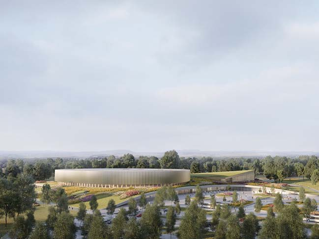 Metaform and Mecanoo win the Competition to design the First Velodromes in Luxembourg