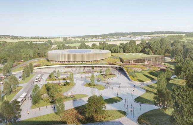 Metaform and Mecanoo win the Competition to design the First Velodromes