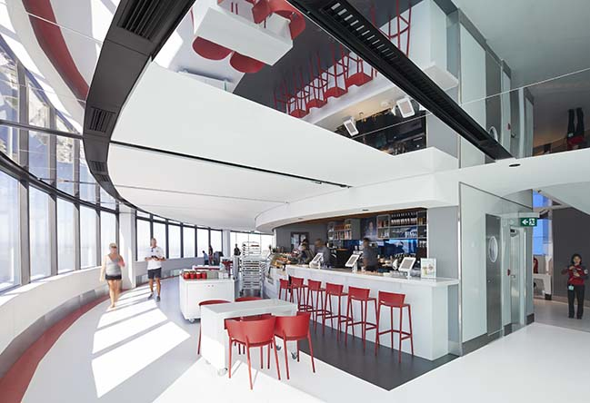 CN Tower Reboot in Toronto by Cumulus Architects Inc