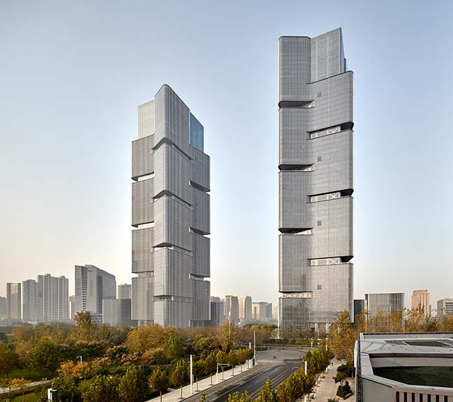 Greenland Towers by gmp Architekten