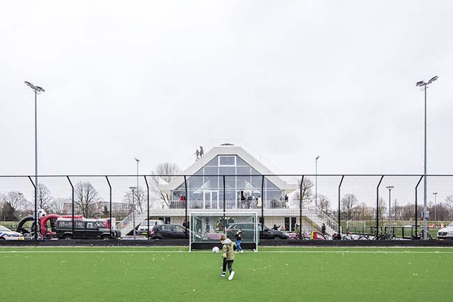 Club House Varkenoord by NL Architects