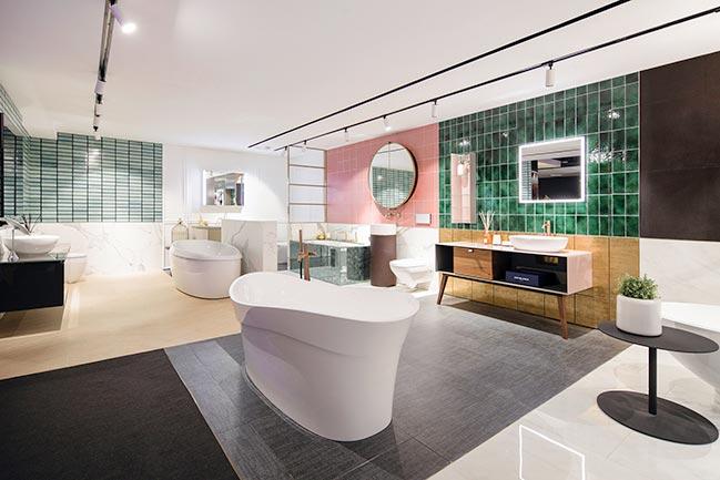 Colourliving Showroom by Lim + Lu