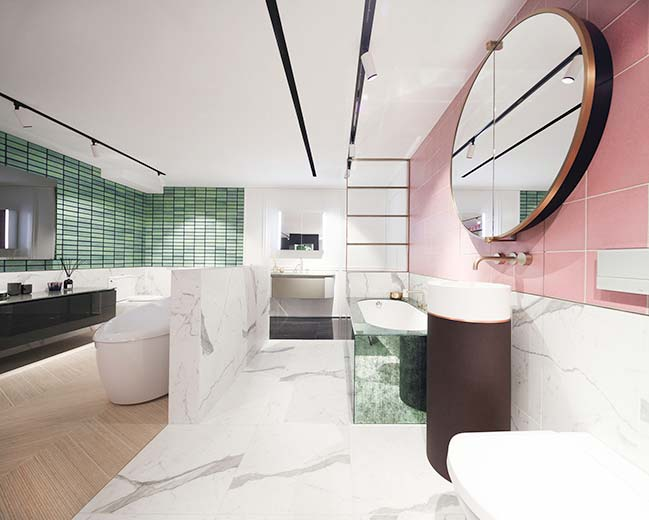 Colourliving Showroom by Lim + Lu