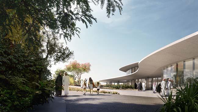 Aljada Central Hub by Zaha Hadid Architects