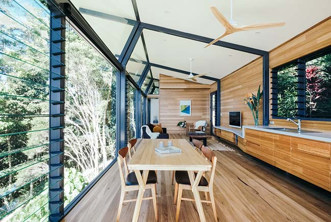 Hidden Studio in Byron Bay by Harley Graham Architects