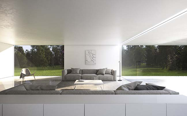 House in The Lake by Fran Silvestre Arquitectos