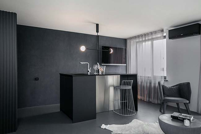 Midnight Flat by Zrobym Architects