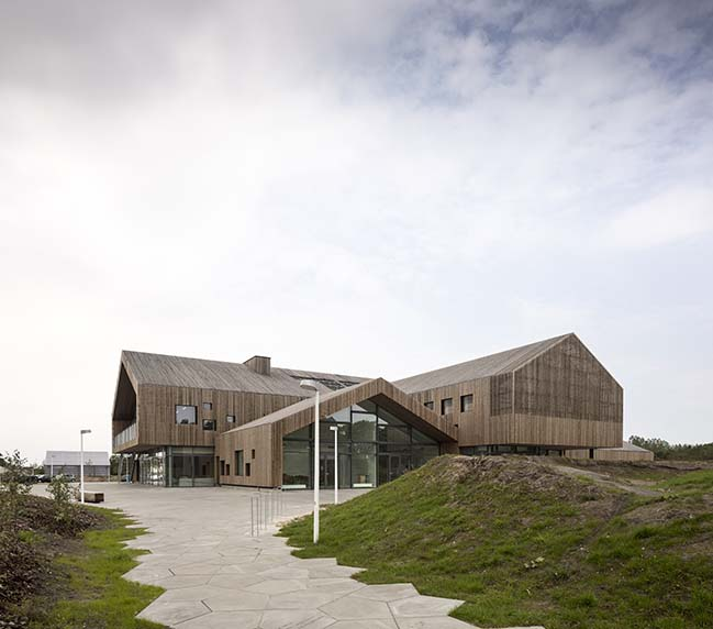The Heart in Ikast by C.F. Møller Architects
