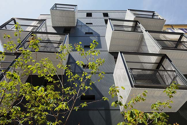Social Housing in Paris by Atelier du Pont