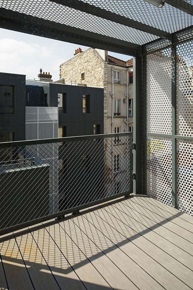 Social Housing in Paris by Atelier du Pont