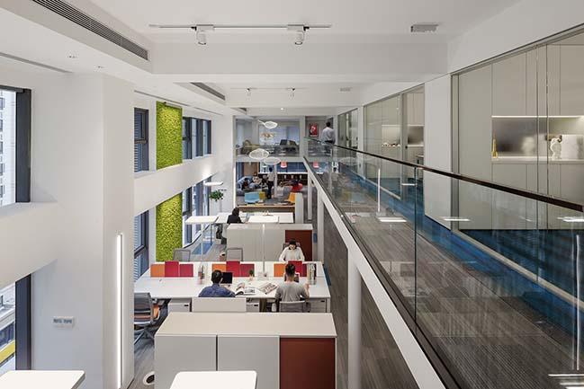 CROYO Headquarter Office by Shenzhen Super Normal Design Co., Ltd.