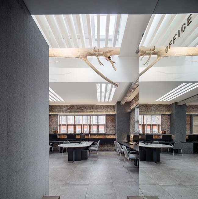CUN Design presents their new office in Beijing