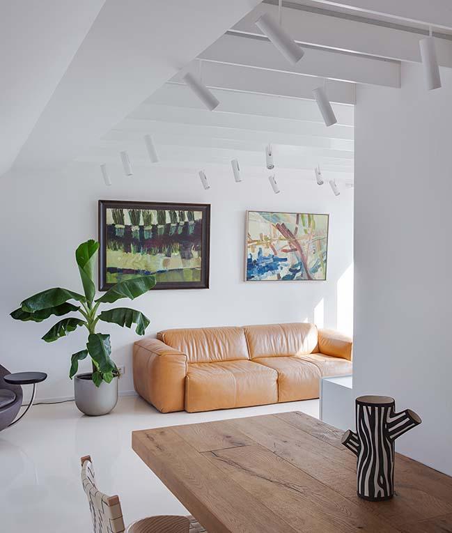 Apartment B9 in Vilna by Ema Butrimaviciute