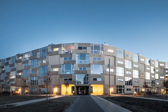 Dortheavej Residence by Bjarke Ingels Group