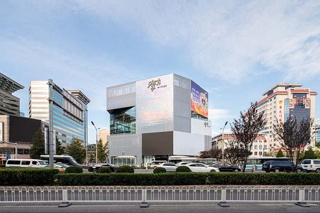 M-Cube Shopping Centre in Beijing by MVRDV