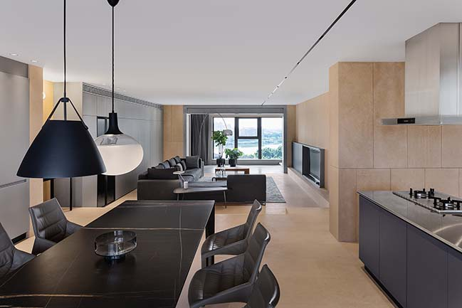 A Minimalist Residence with New Soul by JAMD ARCHITECTURE