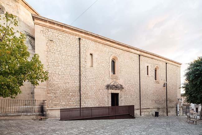 San Francesco Church stairs by Nunzio Sciveres and Giuseppe Gurrieri