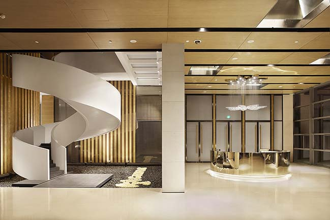 Hualong Private Terminal Space by Shishang Architecture
