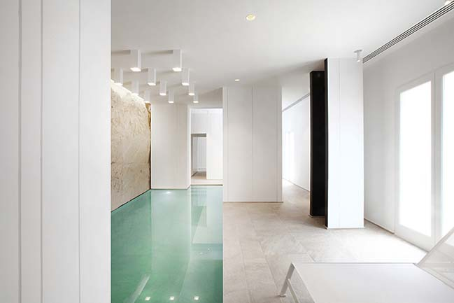 White Digger: New Wellness and Spa by Tomas Ghisellini Architects