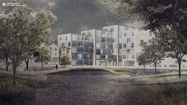 BIG + ONE + Sherwood vision for Islais Hyper-Creek