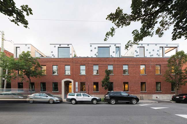Monument by Blouin Tardif Architectes