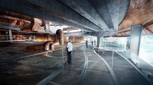Transformed Void - The Museum of Regeneration of Shougang No. 3 Blast Furnaces by CCTN Design