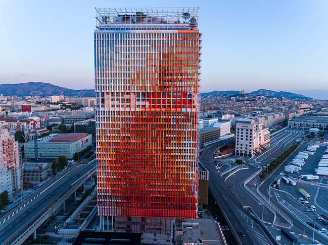 La Marseillaise by Jean Nouvel inaugurated on 25 Oct 2018