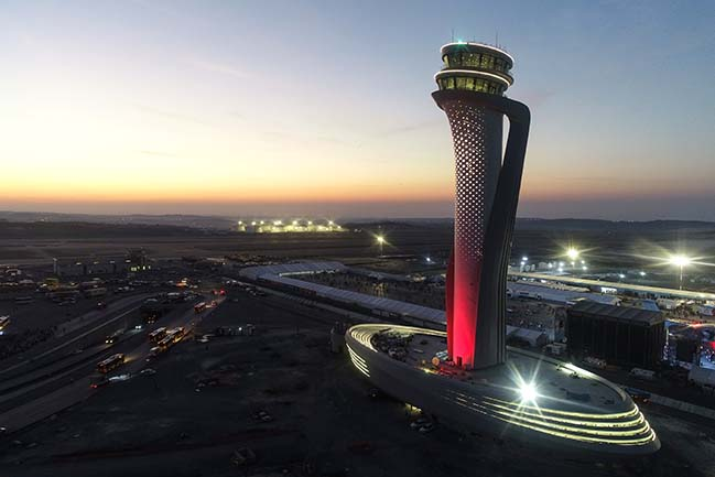 New Istanbul Airport by Pininfarina and AECOM