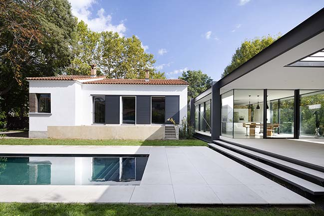 CTN House in Montpellier by Brengues Le Pavec architectes