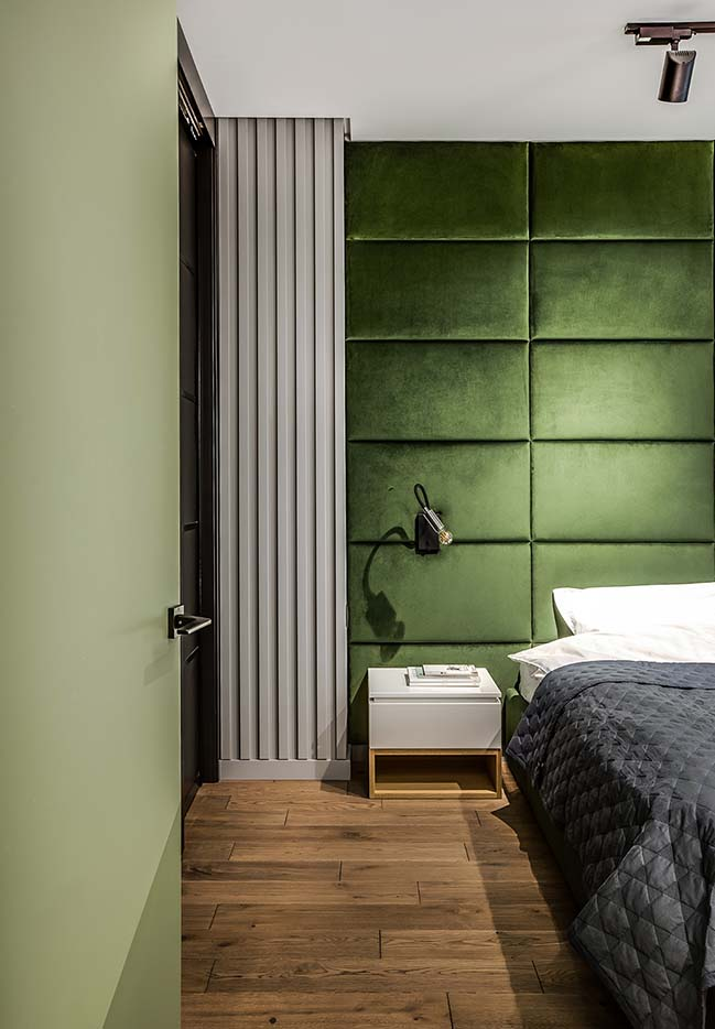 Modern apartment for a Cinema Fan by BohoStudio