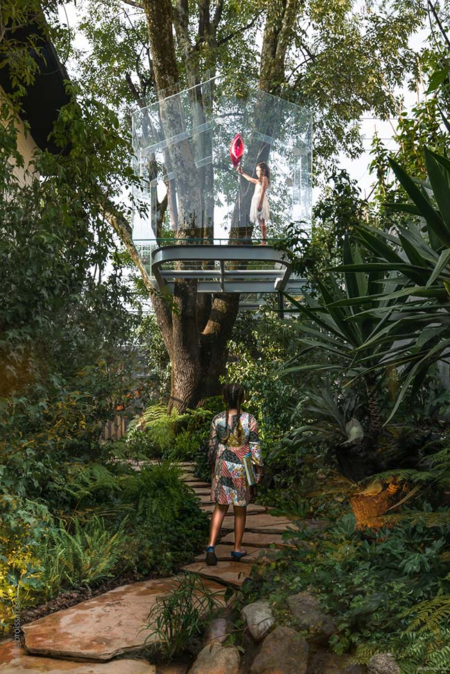 Crystal Treehouse in Mexico by BROISSIN