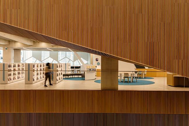 Calgary's new Central Library by Snøhetta