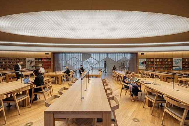 Calgary's new Central Library by Snøhetta