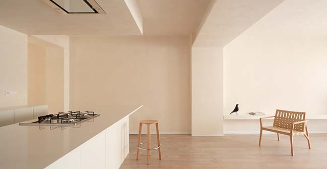 JJ Apartment in Valencia by Carlos Segarra Arquitectos