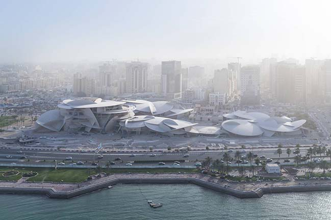 National Museum of Qatar by Atelier Jean Nouvel will open on March 28, 2019