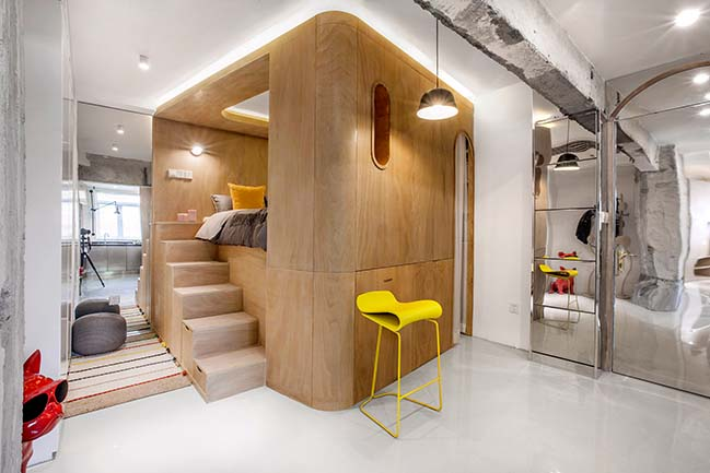 10° home in Shanghai by TOWOdesign