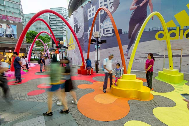 Paint Drop in Shanghai by 100architects