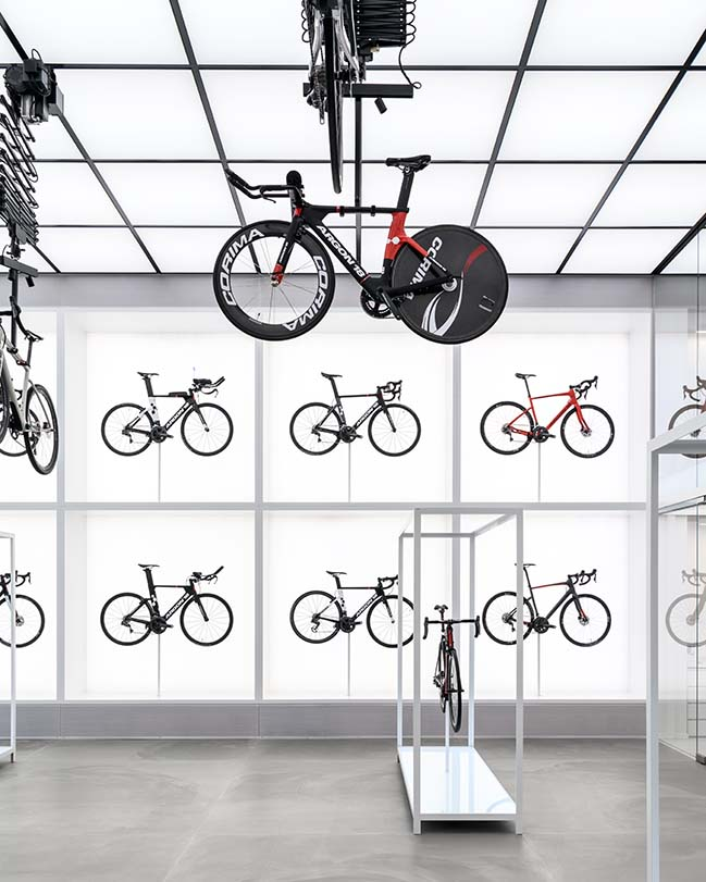 United Cycling Lab & Store by Johannes Torpe Studios