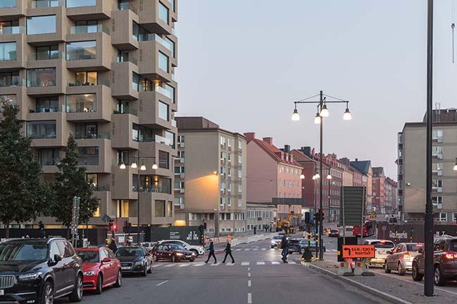 OMA / Reinier de Graaf's Norra Tornen is inaugurated