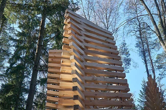 Pavilion UGUNS by DJA | Didzis Jaunzems Architecture