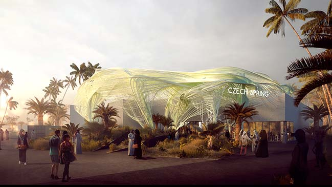 Czech Paivlion Expo 2020 Dubai by Formosa AA