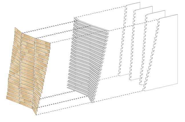 TREESSUN Floor Exhibition Hall Design by TOWOdesign
