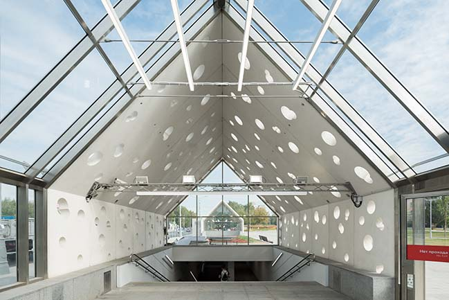 Solntsevo Metro station in Moscow by Nefa Architects