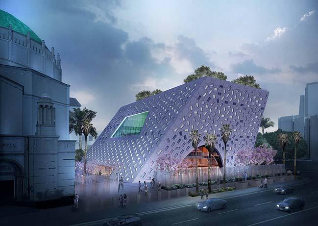 Wilshire Boulevard Temple by OMA/Shohei Shigematsu will begin construction