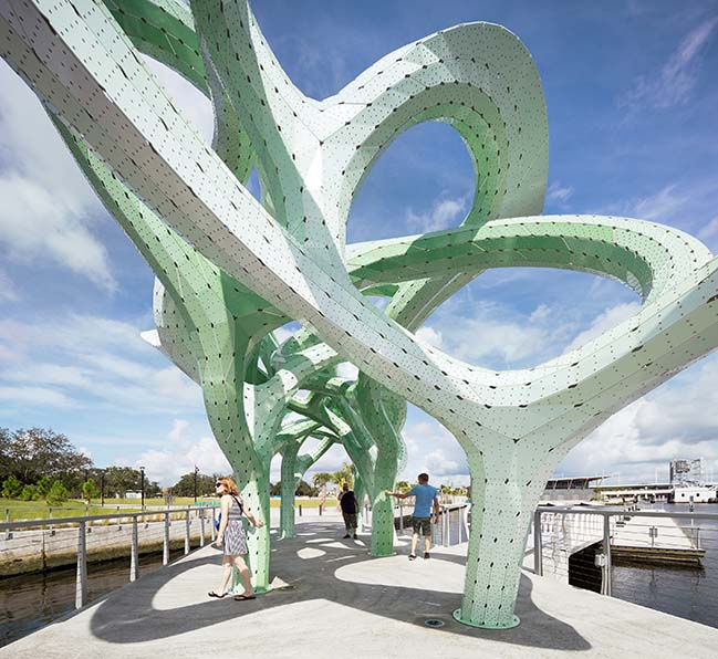 Form of Wander by MARC FORNES / THEVERYMANY